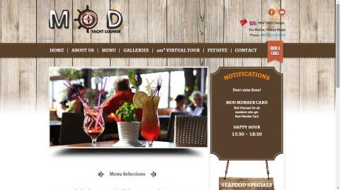 Mod Cafe Yacht Lounge
