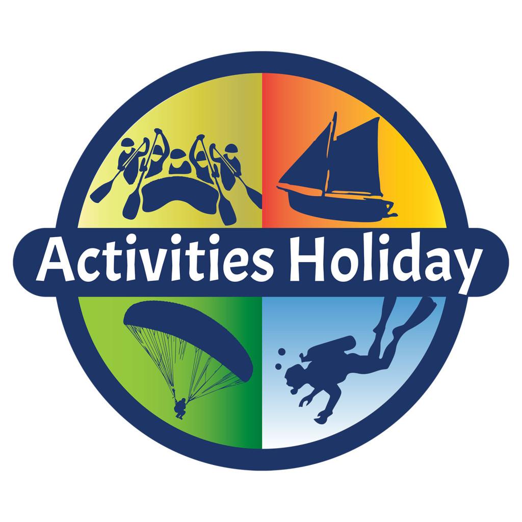 activities holiday tatil tur firması logo tasarımı Muğla