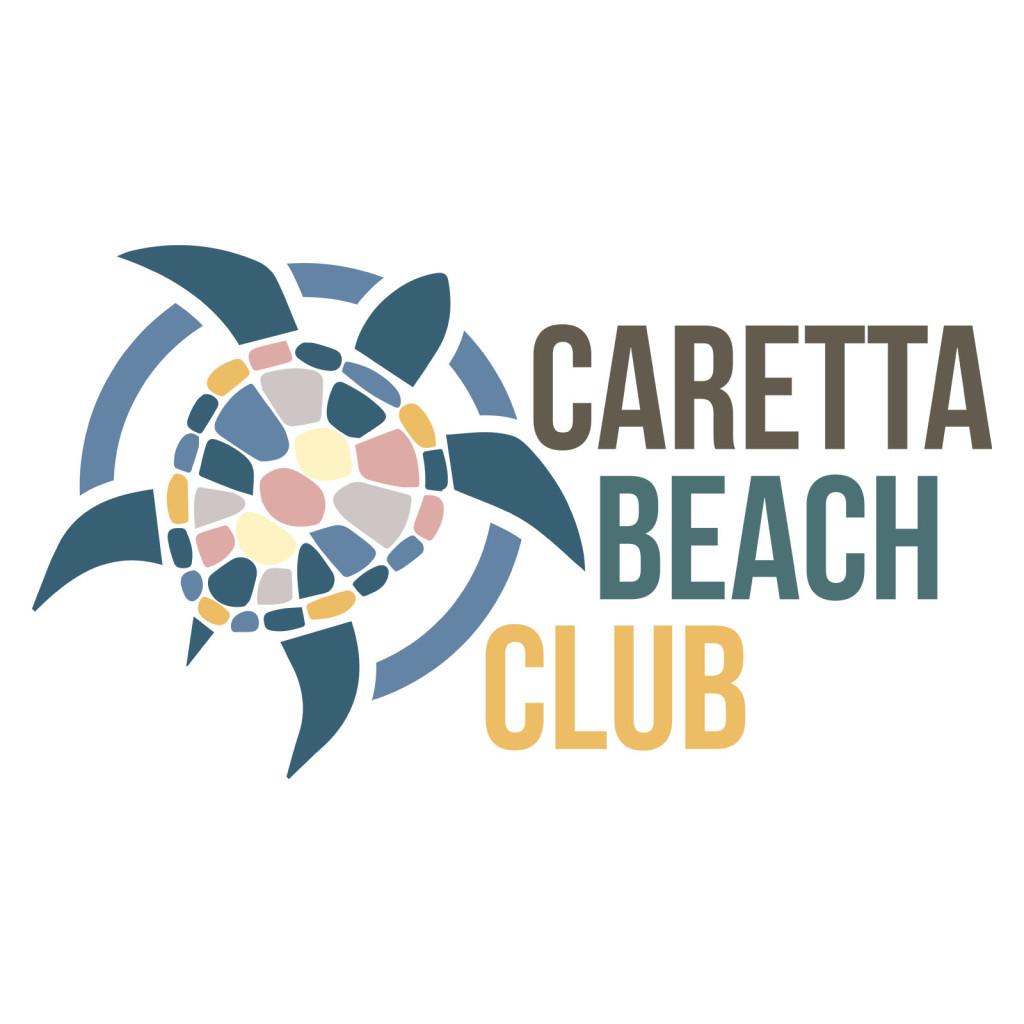 caretta beach club logo tasarımı Çalış plajı Fethiye Muğla