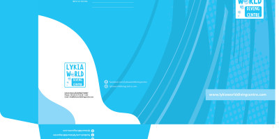 Dalış okulu kurumsal kimlik tasarımı Fethiye Muğla