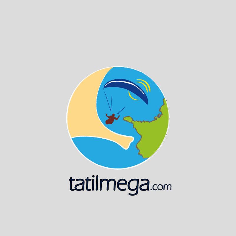 tatil mega logo tasarımı Ölüdeniz Fethiye Muğla