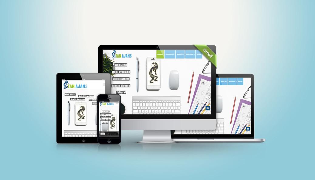 Fethiye'de Tan Ajans üretimleri profesyonel responsive mobil uyumlu web tasarımları